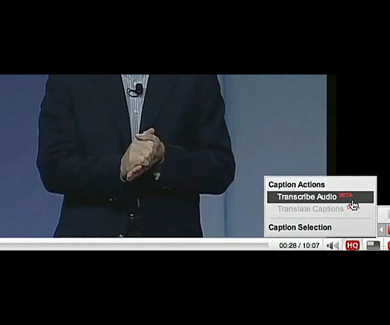 YouTube Introduces Captions
