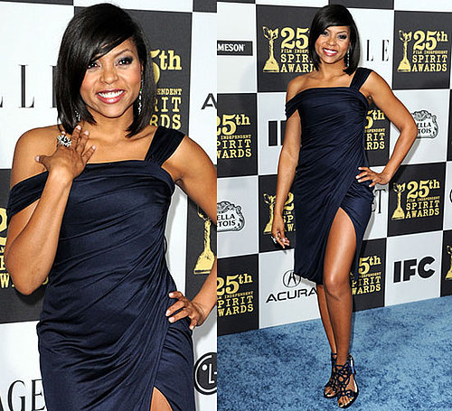 Taraji P. Henson at 2010 Independent Spirit Awards 2010-03-05 18:49:50