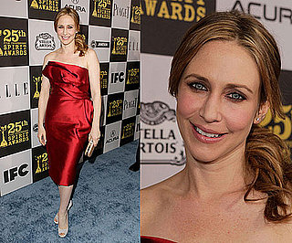 Vera Farmiga in Marchesa at 2010 Independent Spirit Awards