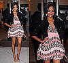 Zoe Saldana in Pink Louis Vuitton at Louis Vuitton And Glamour Celebrate the Magazine&#039;s &quot;Most Glamorous&quot; Issue Party