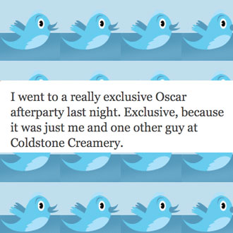 Celebrity Tweets About the 2010 Oscars