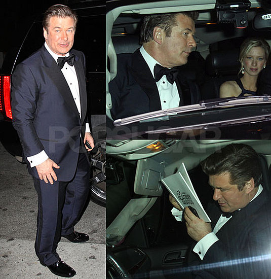 Photos of Alec Baldwin Leaving Oscars