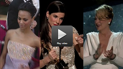 2010 Oscars: PopSugar Rush Picks Zoe, Sandra, Meryl, & More!