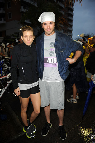 AnnaLynne McCord and Kellan Lutz