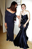 Anjelica Huston and Kristen Stewart
