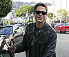 Slide Photo of Rob Lowe at Lunch in LA