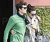 Slide Photo of Orlando Bloom and Miranda Kerr in LA