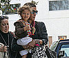 Slide Photo of Halle Berry and Nahla in LA