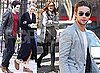 Photos of Blake Lively, Leighton Meester, Chace Crawford and Penn Badgley Filming Gossip Girl Season Three in New York City