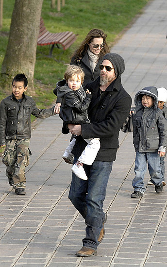 Brad Pitt and Angelina Jolie: Family Fun in Venice