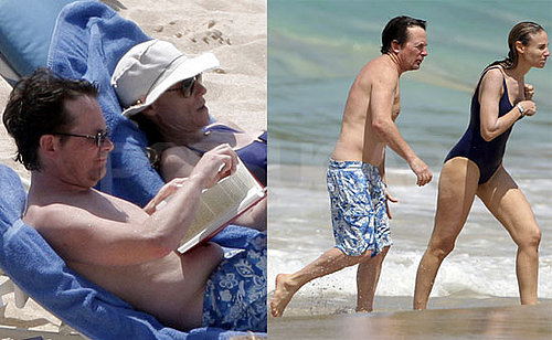 Shirtless Michael J. Fox Photos in St. Barts With Wife Tracy Pollan