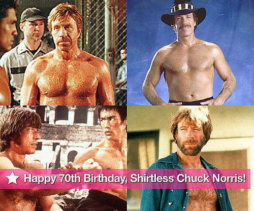 Chuck Norris Birthday Slideshow