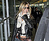 Slide Photo of Jennifer Aniston at London Airport