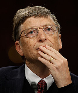 Bill Gates is Now the World's Second Richest Man, Steve Jobs is 136th