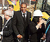 Slide Photo of Jay Z at Barclays Center Groundbreaking