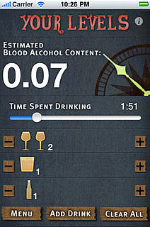 Estimate Your Blood Alcohol Level With an App