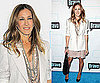 Sarah Jessica Parker Wearing Stella McCartney Lace Dress and Blazer