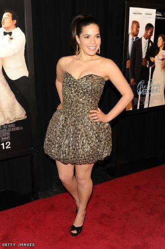 Curvy Fashionista of the Week America Ferrera