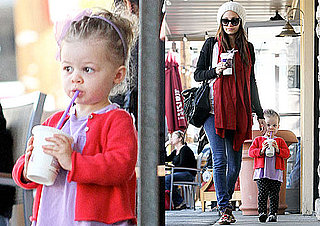 Photos of Nicole Richie and Harlow Madden Getting Drinks Together in LA
