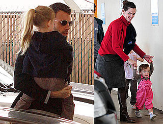 Photos of Ben Affleck, Jennifer Garner, Violet Affleck, and Seraphina Affleck Together in LA 2010-03-12 12:30:00