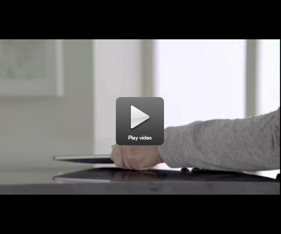 The First iPad Commercial Airs