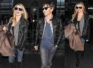 Photos of Jessica SImpson and Ken Paves Arriving at LAX As The Price of Beauty Premieres