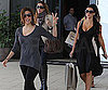 Slide Photo of Eva Longoria and Kim Kardashian at Lunch in Miami
