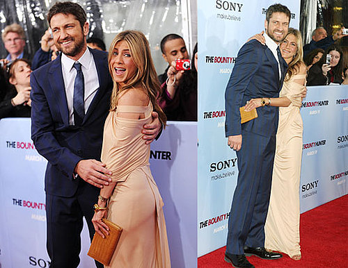 Photos of Jennifer Aniston And Gerard Butler at The NYC Premiere of The Bounty Hunter
