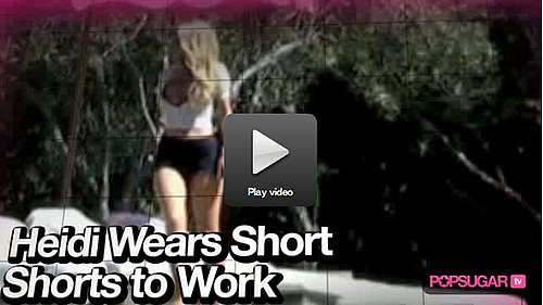 Video of Heidi Montag Being Ridiculous, Kristen Joking With Jimmy and Kara's Bikini Photo Shoot!