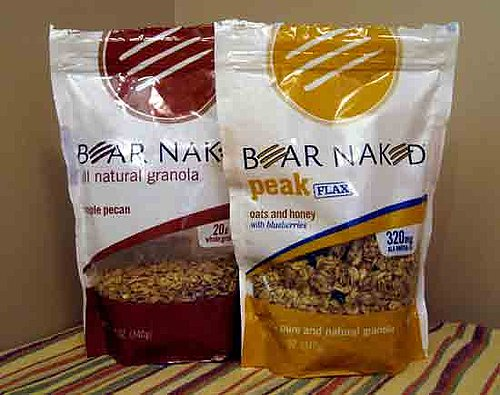 Bear Naked New Flavors of Granola