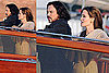 Photos of Angelina Jolie and Johnny Depp on the set of The Tourist