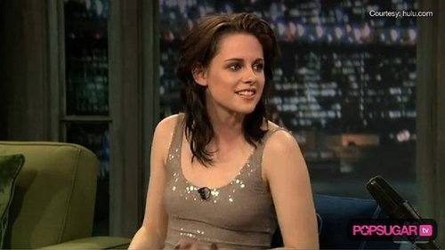Kristen Stewart Talks to Jimmy Fallon About What Makes The Runaways Sexy