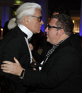 Karl Lagerfeld Staying at Chanel