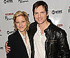 Slide Photo of Edie Falco and Peter Facinelli at a Nurse Jackie Event in NYC