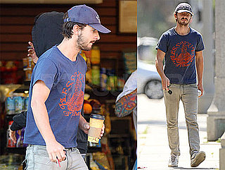 Photos of Shia LaBeouf After Wall Street 2 Delayed