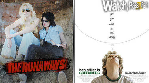 The Runaways Movie Review and Greenberg Movie Review