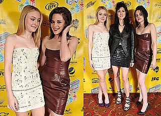 Photos of Kristen Stewart, Dakota Fanning, and Floria Sigismondi Promoting The Runaways at SXSW in Austin, TX 2010-03-19 06:45:00
