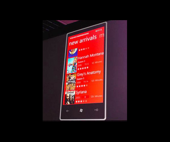 Microsoft Unveils 7 Series Phone Apps