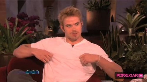 Kellan Lutz on The Ellen DeGeneres Show For New Moon
