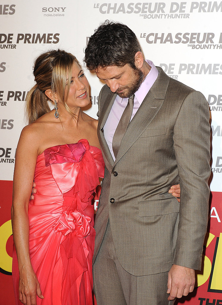Photos of Jennifer Aniston and Gerard Butler