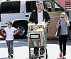 Slide Photo of Ryan Phillippe with Ava and Deacon