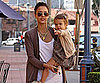 Slide Photo of Jessica Alba and Honor at Grocery Store in LA