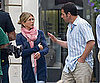 Slide Photo of Jennifer Aniston and Adam Sandler Filming on Rodeo Drive
