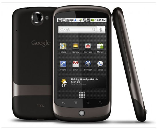 Unlocked Nexus One ($650)