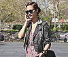 Slide Photo of Jessica Alba Talking on the Phone While Shopping in Los Angeles