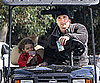 Slide Photo of Matthew McConaughey and Levi in Malibu 2010-03-23 10:15:51