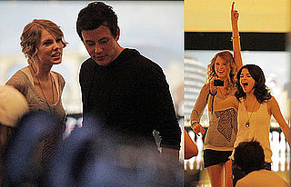 Photos of Taylor Swift Bowling With Selena Gomez and Cory Monteith