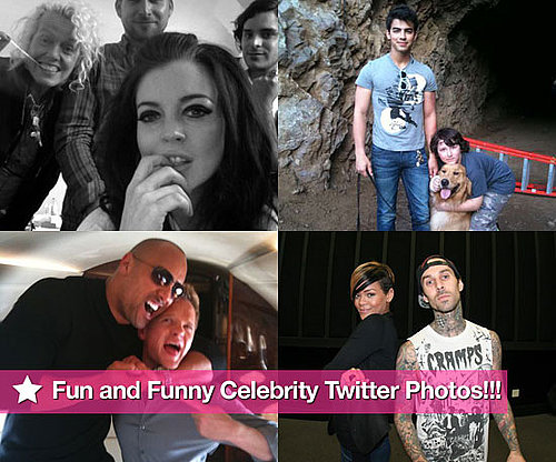 Twitter Photos of Lindsay Lohan, Joe Jonas, Neil Parick Harris, Rihanna and Travis Barker