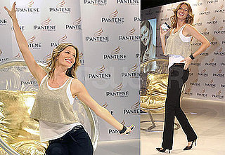 Photos of Gisele Bundchen Promoting Pantene in Brazil