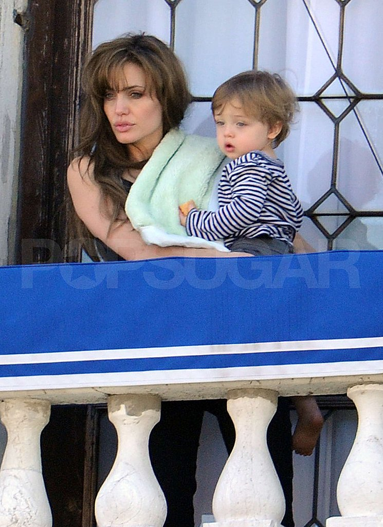 Photos of Angelina and Knox